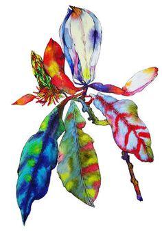"""Saatchi Art Artist Sofia Perina-Miller; Painting, """"Magnolia Bloom"""" #art"""