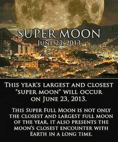 #science super moon