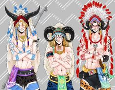 Native ASL brothers Monkey D. Luffy, Portgas D. Ace, and Sabo One piece