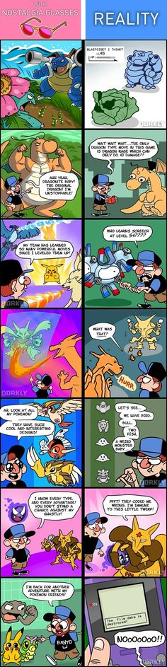 Pokémon - Expectations Vs. Reality: It's Time to Face Facts About Pokémon Red/Blue