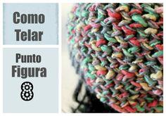 Punto Figura 8 en Telar Redondo / Circular