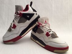 #NIKE #AIR #JORDAN 4 IV #RETRO #BASKETBALLSHOES SIZE 6.5 #YOUTH  Found at : http://ebay.to/1y10bee   Access my inventory by checking the link below:  http://ebay.to/1sZ8M23