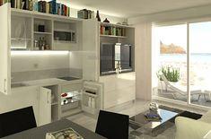Cucine per piccoli spazi 33 fantastiche immagini su pinterest nel 2018 small spaces kitchen - Cucine per spazi piccoli ...