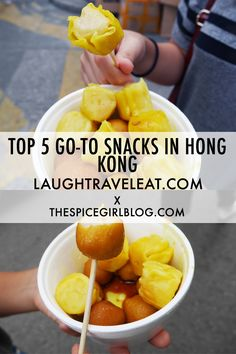When in Hong Kong, the gastronomic capital - it would be a complete waste if you don't try their street food | Laugh Travel Eat + The Spice Girl Blog