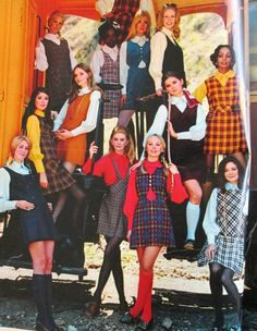 90s Teen Fashion, 70s Inspired Fashion, 60s And 70s Fashion, Seventies Fashion, 2000s Fashion, College Fashion, Vintage Fashion, Gothic Fashion, 70s Outfits