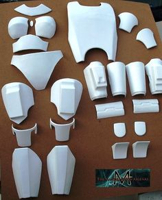 Customized Death Watch Mandalorian 25-27 Piece Female Armor set (Night Owl or Death Watch)