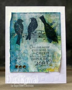 WT401 - Impulse to Soar by dini - Cards and Paper Crafts at Splitcoaststampers