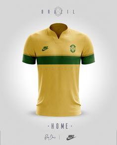 Brazil Home / Nike