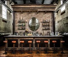 Image result for industrial bar decor