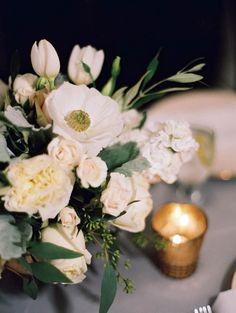 Featured Photographer: Esther Sun; wedding centerpiece idea