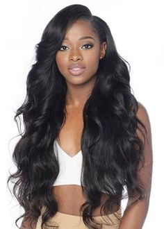 QQ3 Body Wave: 3 PCS Bundle. Unprocessed Hair: style as you like! #bundles #bundlesale #hairgoals #weave