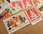 love Christmas stamps so much!