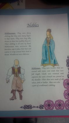 Visual Projects as part of Feudal Games Unit - Fashion Magazine