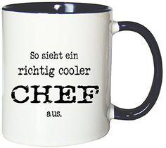 Mister Merchandise Kaffeetasse Becher So sieht ein richtig cooler Chef aus. , verschiedene Farben - http://geschirrkaufen.online/mister-merchandise/mister-merchandise-kaffeetasse-becher-so-sieht-35
