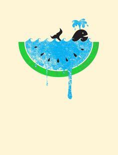 Watermelon/Sea