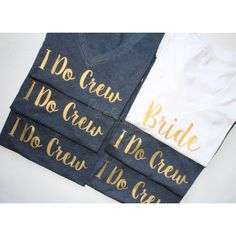 Bridal Party Shirt Set Bridal Party Shirts Bridal Party Tanks... ($73) ❤ liked on Polyvore featuring tops, grey, women's clothing, deep v neck shirt, bridal party shirts, crew neck shirt, v-neck tops and fitted shirt