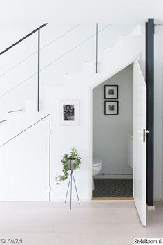 wc,portaikko,mosaiikkilaatta,säilytystila,olohuone