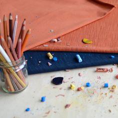 Flamé, Rust | NOSH Fabric Summer 2016 Collection - Shop online at en.nosh.fi | Kesän 2016 malliston kankaat saatavilla nyt verkosta nosh.fi
