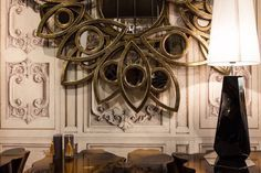 Neapoli by Boca do Lobo | Exquisite Wall Mirror Designs for Your Living Room  | www.bocadolobo.com #bocadolobo #luxuryfurniture #exclusivedesign #interiodesign #designideas #mirror #mirrorideas #modernmirror