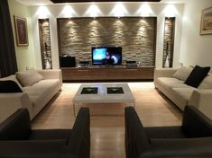 Image result for transitional tv room