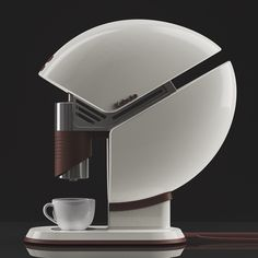 Kabuto - coffee maker concept design