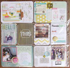 Project Life, Week 9 - Scrapbook.com