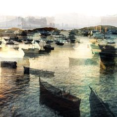 double exposure boats