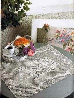Art: Rectangular doilies crochet (Several Patterns)