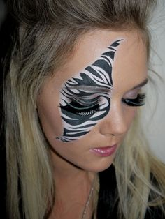 Abstract Makeup/Face Painting by Bcreative Professional Makeup Design & Artist Milton Keynes