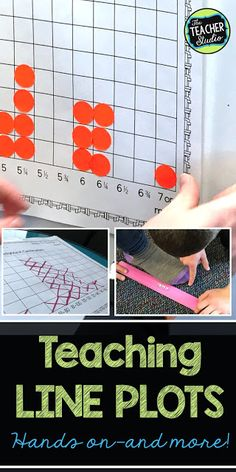 Why Line Plots? Deep Thinking, Test Prep, and More!Why Line Plots? Deep Thinking, Test Prep, and More! Plot Activities, 3rd Grade Activities, Measurement Activities, Math Measurement, Math Fractions, Math Games, Teaching Resources, Fourth Grade Math, Second Grade Math