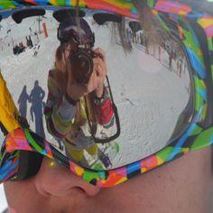 Snow Time ! - ski goggles Ski Goggles, Winter Sports, Skiing, Snow, Ski, Winter Sport, Eyes, Let It Snow