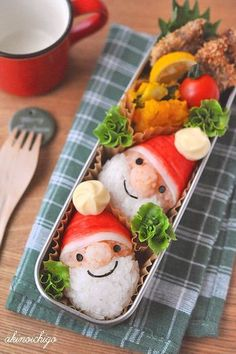 bento Santa Claus  -  Step by step