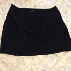 Black bebe mini skirt Black bebe mini skirt, worn once or twice bebe Skirts Mini