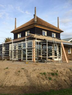 Hooibergwoning - Asch - Piet Timmer & Partners Woodworking Shop, Future House, House Styles, Cabins, Dutch, Home Decor, Homes, Decoration Home, Houses