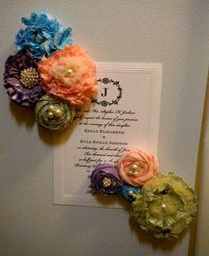 Miss Lovie: No Sew Flower Magnets