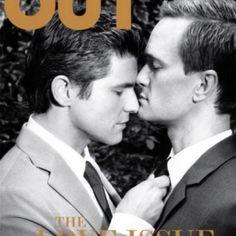 Out Magazine- David Burtka and Neil Patrick Harris