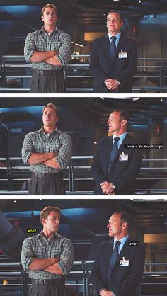 Phil Coulson.  aka me if I stood next to Al Pacino, James Roday, or Ryan Stiles.  Phil understands.