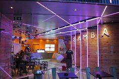 Samba Swirl frozen yoghurt store by Mizzi Studios & InStyle LED, London » Retail Design Blog