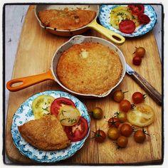 Recipe: Cheddar and Cayenne Corncake