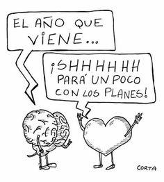 Corazon vs cerebro