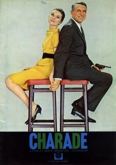 Charade Movie Poster x 17 Inches - x Style J -(Cary Grant)(Audrey Hepburn)(Walter Matthau)(James Coburn)(George Kennedy) Classic Movie Posters, Classic Movies, Film Posters, Cary Grant, Charade Movie, Charade 1963, Old Movies, Great Movies, Image Cinema