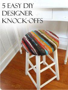 5 EASY DIY Designer Knock-Offs