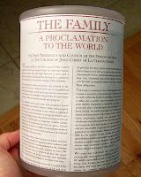 Family Proclamation Lessons
