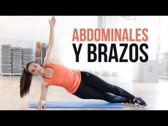 Ejercicios de abdominales y brazos | 15 minutos - YouTube
