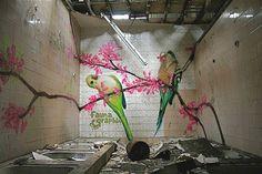 Abandoned shower room