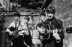 Terry O'Neill, 'The Beatles Backyard,' 1963, Art Angels