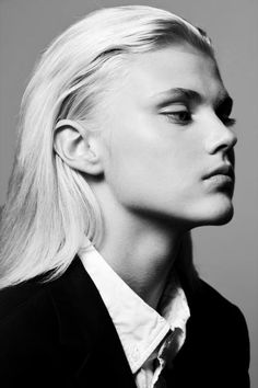Serbian Australian model Andrej Pejic is androgynous and famous for his ability to model both male and female clothing.