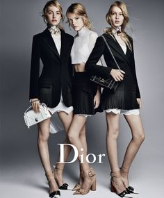 Dior Spring/Summer 2016 Campaign by Patrick Demarchelier