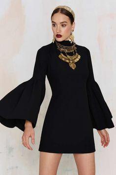 Nasty Gal Kiss and Bell Mini Dress - Black - Best Sellers | Dark Romance | Dark Romance | Party Shop | LBD | Solid | Dresses