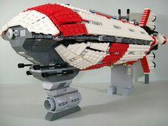 Awesome lego ship